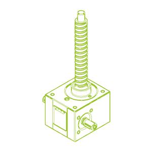 10 kN-25×10-R-Husillo de bolas
