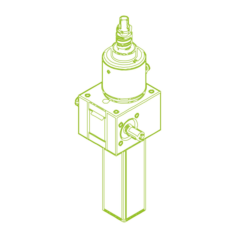 GSZ S-Husillo de bolas 10 kN | 25x10