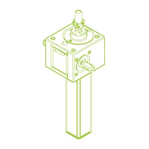 10 kN-20×4-S-Rosca trapezoidal