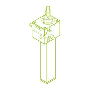 2,5 kN-16×4-S-Rosca trapezoidal