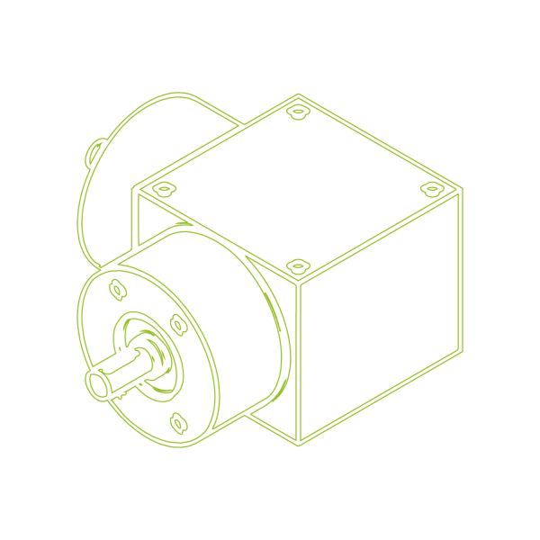 Bevel Gearboxes   KSZ-H-5-L   Drive ratio 2:1