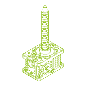 R-Ball screw 10kN | 25x25