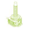 R-Ball screw 500kN | 125x40
