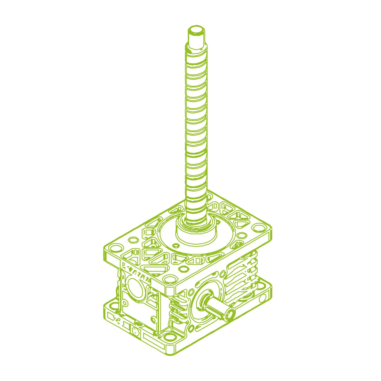 Z R-Husillo de bolas 5kN | 16x10