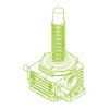 R-Rosca trapezoidal 500kN | 120x16