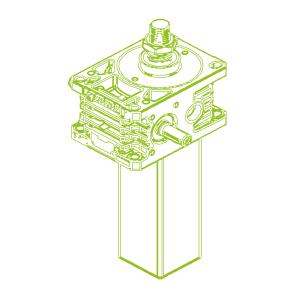 50kN-40×7-S-Rosca trapezoidal