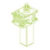 S-Rosca trapezoidal 50kN | 50x8