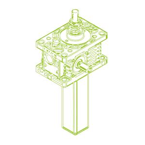 Z S-Rosca trapezoidal 5kN | 18x4