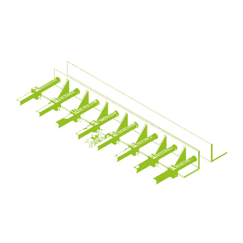 Ajuste para las distintas formas de las vigas de acero
